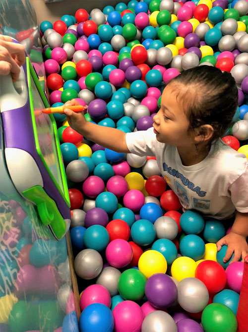 Ball Pit Occupational Therapy Grow Learning Centre